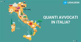 Quanti avvocati ci sono in Italia?