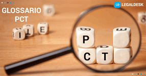 Il glossario del PCT