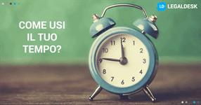 Come usi il tempo che risparmi grazie al PCT e al software?