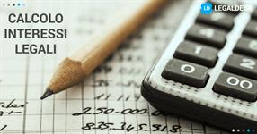 Calcolo interessi legali 2017: come calcolarli?