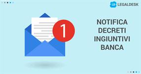 Notifica decreti ingiuntivi dalla banca: in quali casi può farli