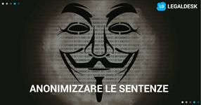 Privacy a rischio, anonimizzazione e protezione dei dati personali