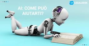 Intelligenza artificiale per l'avvocato: come ti può aiutare?