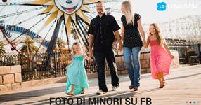 Foto dei figli su Facebook: è necessario il consenso dei genitori?