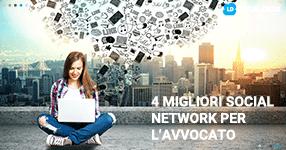 4 migliori social network per gli avvocati