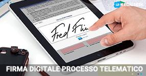Firma digitale nel processo telematico