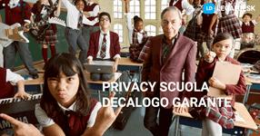 Regolamento privacy scuola: il decalogo del Garante