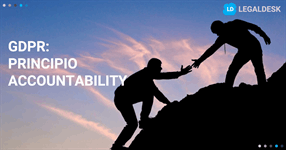Principio accountability: pilastro GDPR