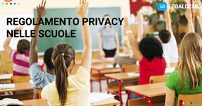 Regolamento privacy scuola, analisi
