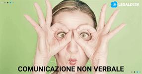 Avvocato: comunicazione non verbale