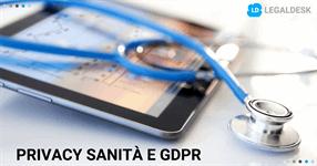 Privacy sanità: le nuove regole alla luce del GDPR