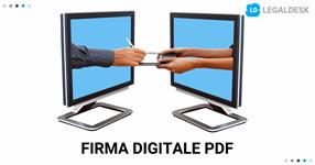 Firma digitale PDF: come preservare il valore legale