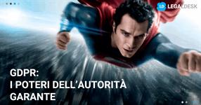 GDPR: poteri dell'Autorità Garante