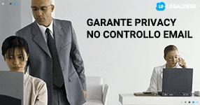Garante per la privacy: vietato controllo massivo delle email
