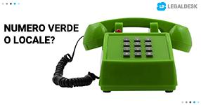 Numero verde o numero locale per il tuo studio legale?