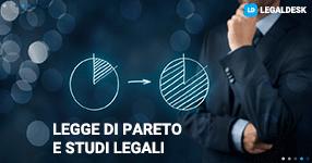 Studi legali e la legge di Pareto
