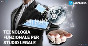 Avvocato, supercar della funzionalità in uno studio legale è la tecnologia