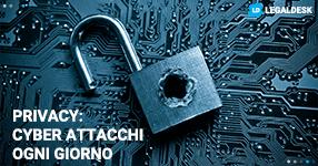 Privacy: 140 cyber attacchi al giorno