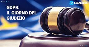 GDPR ed il giorno del giudizio