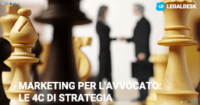 Marketing per l'avvocato: le 4C di strategia