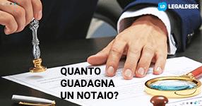 Quanto guadagna un notaio in Italia?