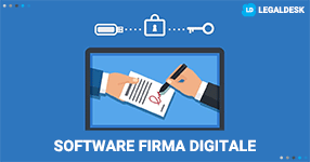 Firma digitale software: firmare in un click