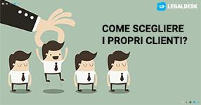 Studio legale ecco come può scegliere i propri clienti