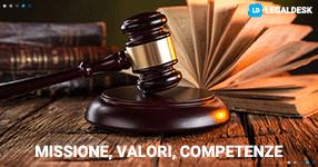 Studio legale e brand: missione, valori, competenze