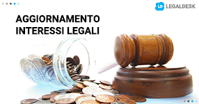 Calcolo interessi legali: breve aggiornamento