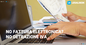 Senza fattura elettronica non si potrà detrarre l'Iva