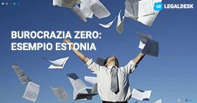 Burocrazia zero: Estonia, cittadini depositano telematicamente da soli