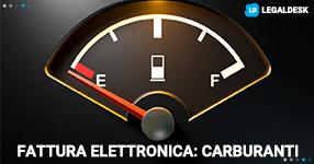 Fattura elettronica: carburante come funziona?