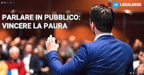 Come vincere la paura di parlare in pubblico?