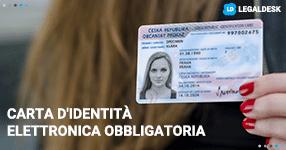 Carta d'identità elettronica obbligatoria per tutti