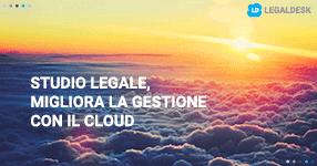 Studio legale, migliora la gestione con il cloud